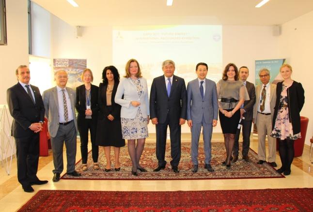 Австрия подписала договор об участии в ЭКСПО-2017