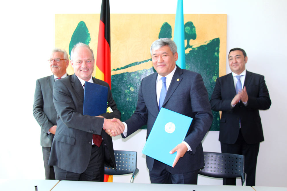 Agreement On Participation Of Germany In EXPO 2017 Signed In German Bundestag