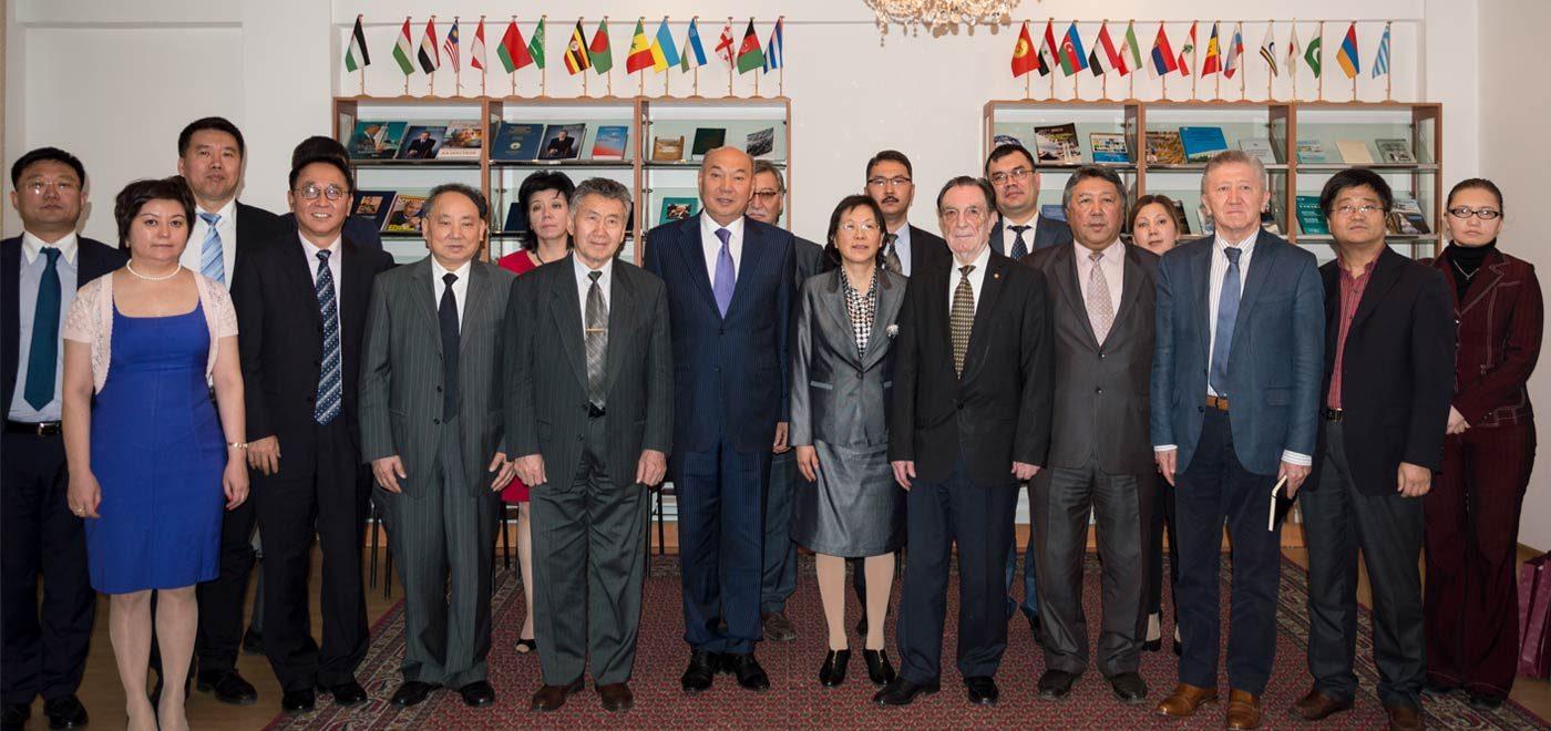 Групповое фото, с китайской делегацией
