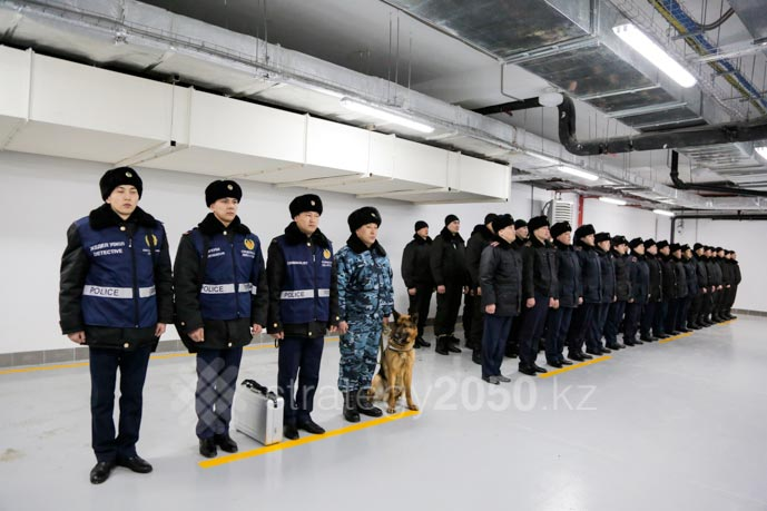 Police Department Opened In Astana In Territory Of EXPO-2017