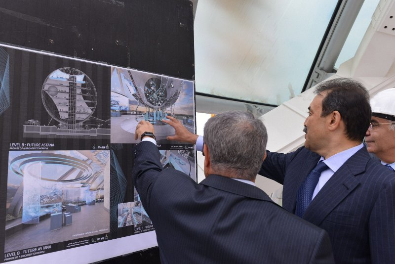 Ministry Of Energy Prepares Kazakhstan's National Pavilion For EXPO-2017
