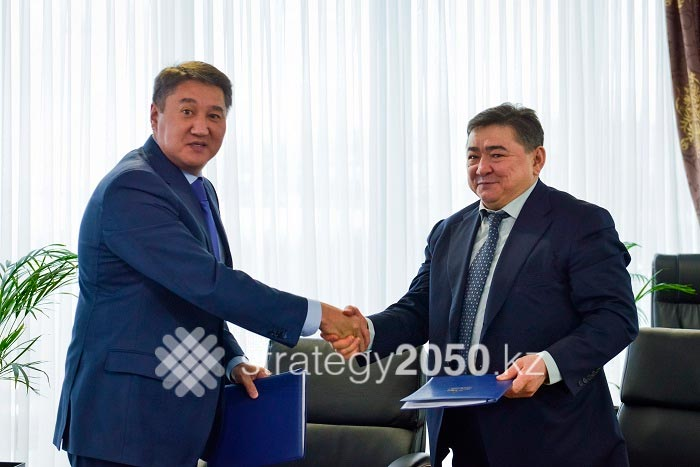 Astana EXPO-2017 And KazAgro Signed Collaborating Agreement