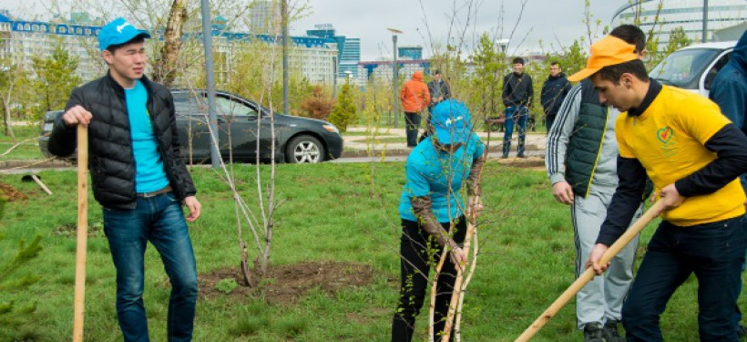 """Ecological Action """"Green Belt"""" To Take Place In Astana"""