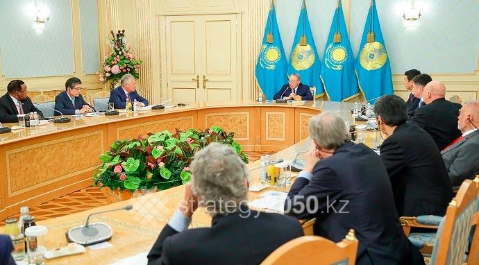 Н.Назарбаев встретился с лауреатами Нобелевской премии
