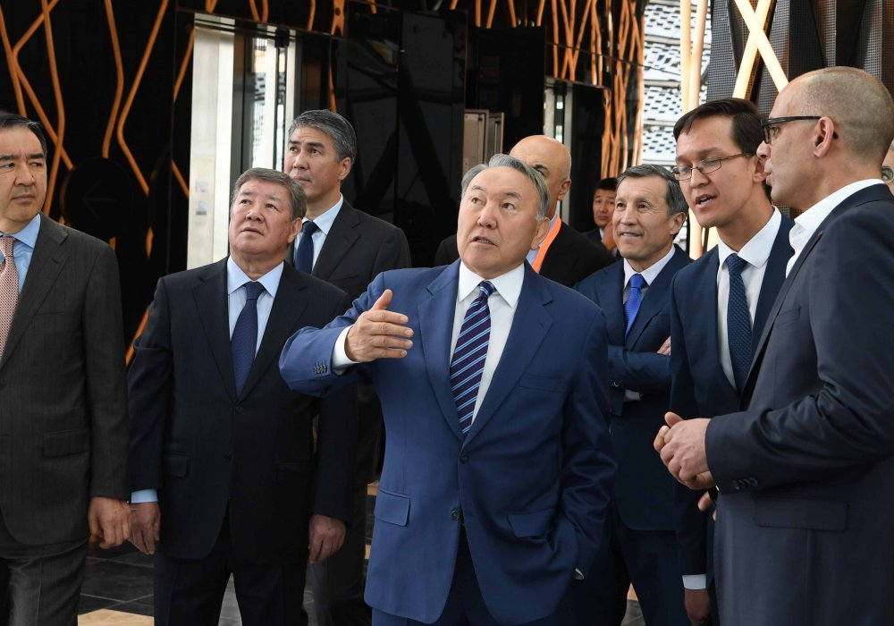President Familiarized With Presentation Of EXPO-2017 Opening Ceremony